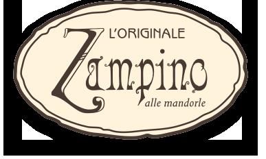 L'originale ZAMPINO alle mandorle della pasticceria DA BRUNO di Recoaro Terme