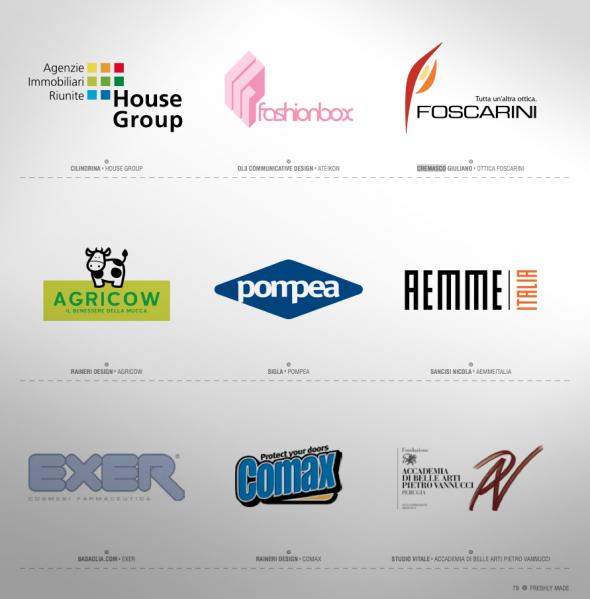 Una pagina di Logomania - il nostro logo Ottica Foscarini.